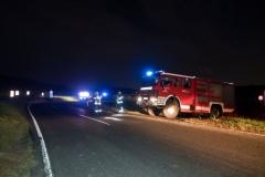 20191014 Wildunfall auf der Weinbergstraße in Pfaffstätten