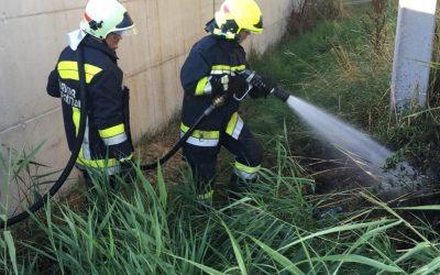 Flurbrand hinter Bauhof